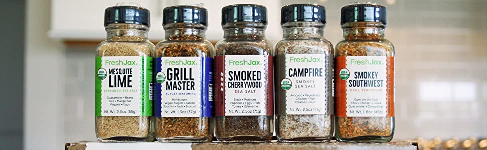 FreshJax Organic Smoked Spices Gift Set