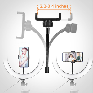 selfie ring light with stand streaming