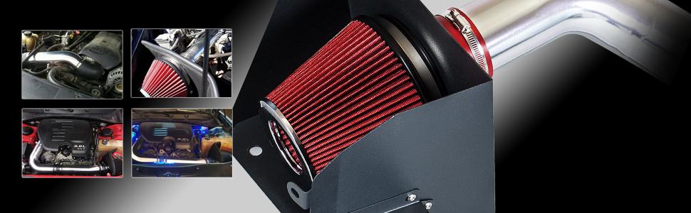 Heat Shield Air Intake Kit