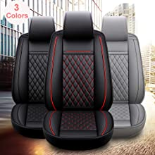 INCH EMPIRE Leather car INCH EMPIRE Leather car seat cover black trimseat cover black trim