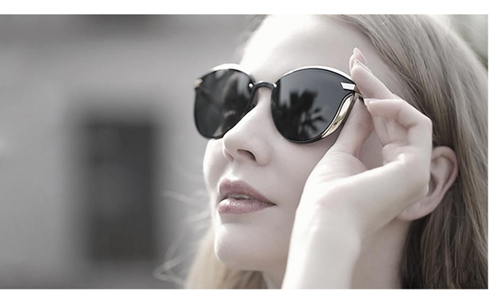 womens retro stylish sunglasses