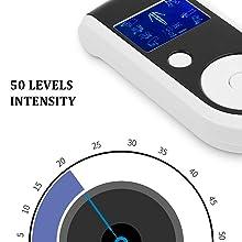 50 levels intensity