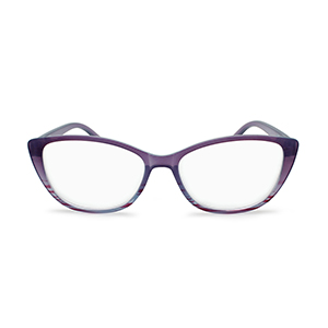 cat eye reading glasses for women purple ombre color