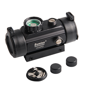Durable, clear and bright red greed dot scope brings a lot of fun if you're going to the range.