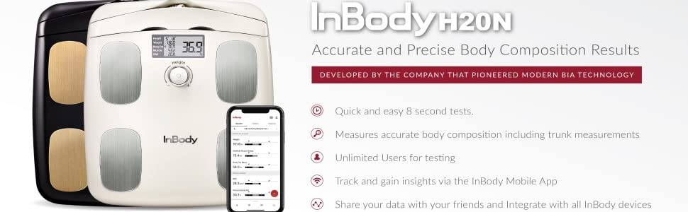 InBody, H20N, accurate, body composition