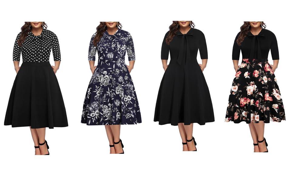 Plus Size Work Dress