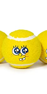 SpongeBob Tennis Balls for Dogs