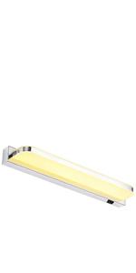 SOLMORE Luce para Ba/ño Luz Blanca 4000 K Luce Armario con Espejo L/ámpara Ba/ño IP44 40 cm L/ámparas para Espejo