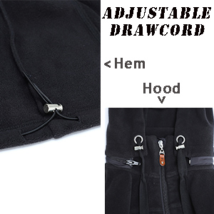 Adjustable drawcord