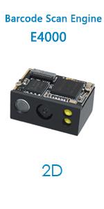 E4000 barcode scanner engine