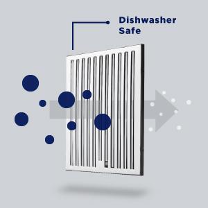 Dishwasher Safe Baffle Filter, kitchen fan, ventilation fan