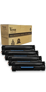 Amazon.com: V4INK Compatible Toner Cartridge for HP 85A ...