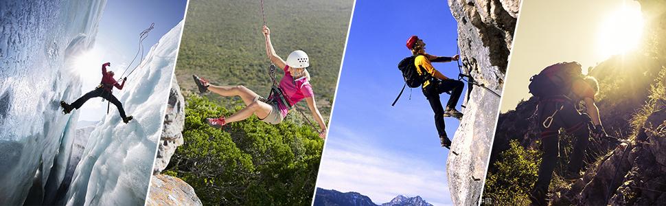 Alomejor Cepillo de Cuerda de Escalada al Aire Libre Cable de Escalada de Roca Cepillo de Lavado Equipo de Limpieza de Cuerda
