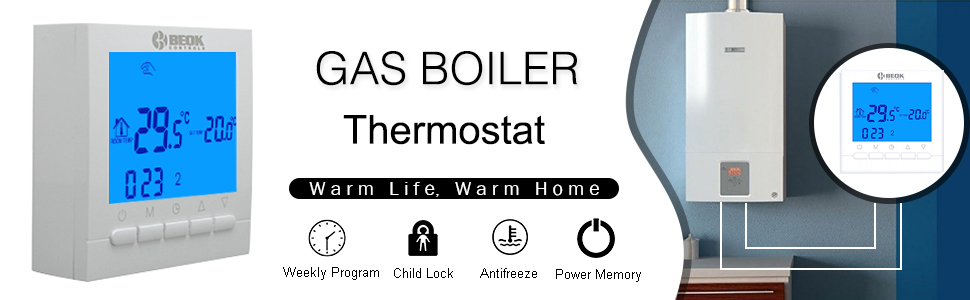 gas boiler room thermostat