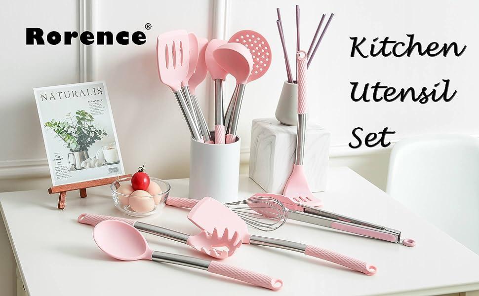Kitchen utensil set of 12