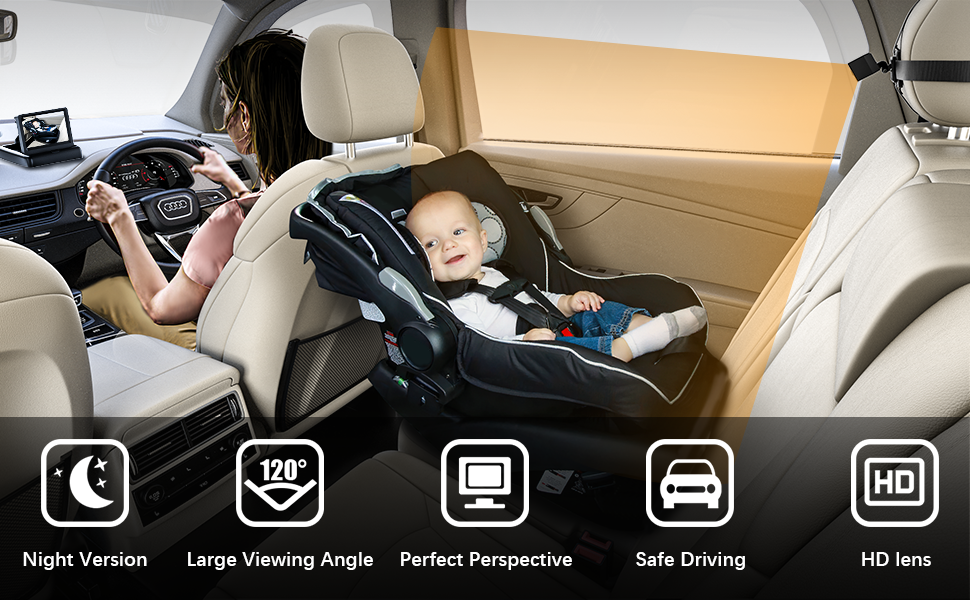 feisike baby car mirror