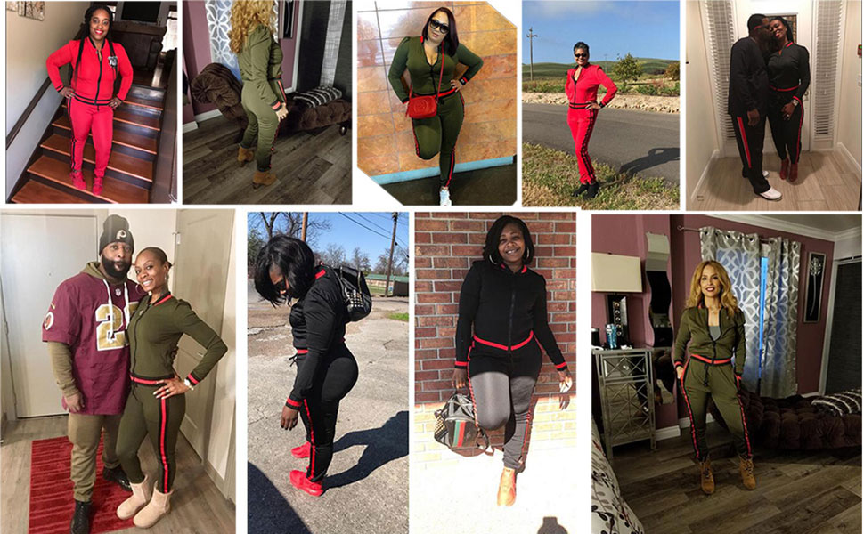 women 2 piece jacket and pants set