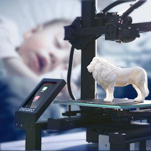 Impresora 3D DIGGRO Alpha-3 FDM 3D Printer DIY, Tamaño de ...