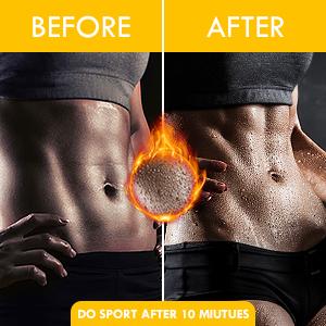 sweat waist trimmer for women