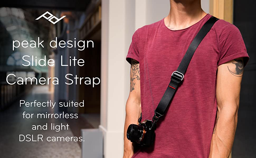 peak, design, slide, lite, camera, strap, quick, release
