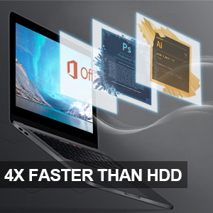 ssd is 4 time faster than hdd