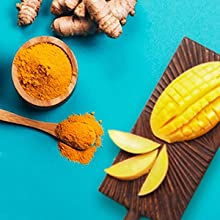 curcumin, immunity, ginger, mango, black pepper, nutrition, healthy nutrition, daily nutrition