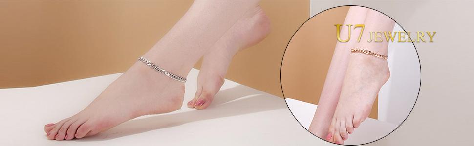 Barefoot Jewelry Ankle Chain Bracelet