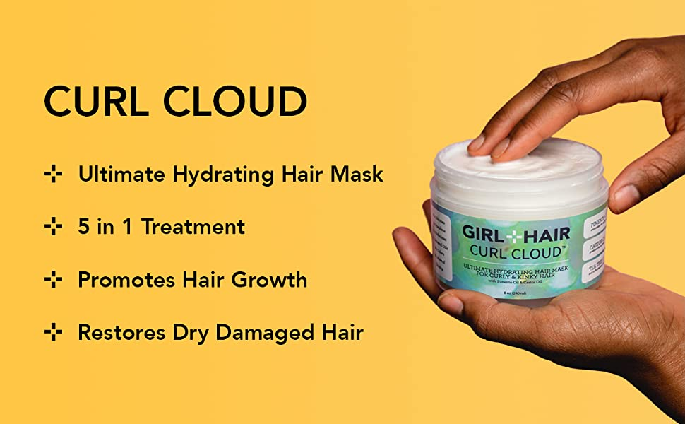 curl cloud hair mask