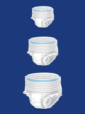 FRIENDS Premium Adult Diapers, Friends Adult Diaper  Medium size, Unisex Adult Diaper