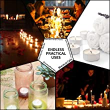 Our non-toxic tea lights candles have tons of uses from parties and  events to businesses and