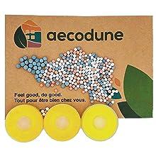 Vitamine-C navulverpakkingen met 3 x citroen en 4 minerale bollen.