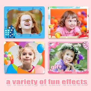 Upgrade Kids Selfie Camera, Christmas Birthday Gifts for Girls Age 3-9, HD Digital Video Cameras