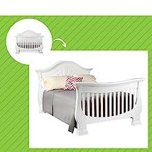 Dorchester Crib in White