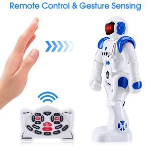 Gesture Sensing Robot for kids