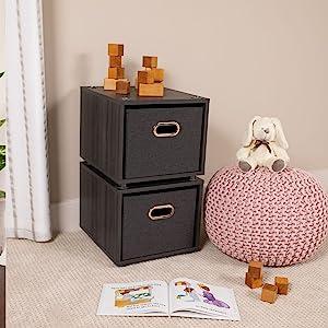 stacking file box, rolling file box, file cabinet, decorative, mdf file storage, office organization