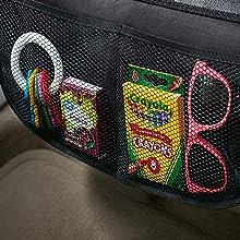 ISOFIX geeignete Unterlagen f/ür Kinderautositze Bonio Kindersitzunterlage Schwarz grau
