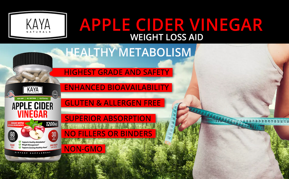 Kaya Apple Cider Vinegar