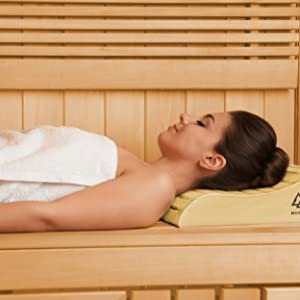sauna kopfstütze