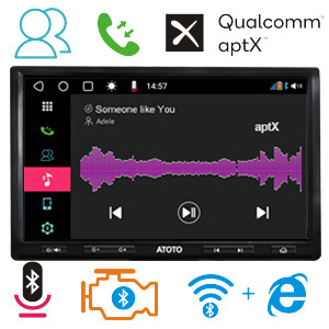 ATOTO s8 Pro Android Car Stereo Bluetooth 5.0 aptX