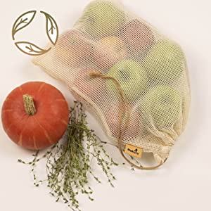 produce bags grocery reusable