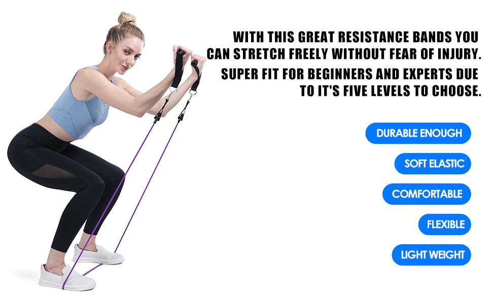 resistance bands kit