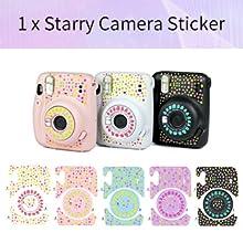 1 x Starry Camera Sticker