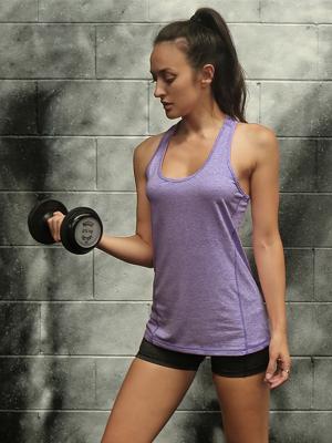gym sport tank top women