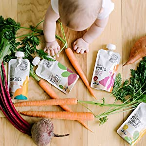Organic veggies only