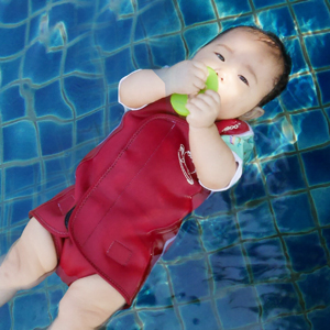 baby toddler lightweight upf50 sun uv protection neoprene thermal keep warm swimsuit wetsuit sunsuit