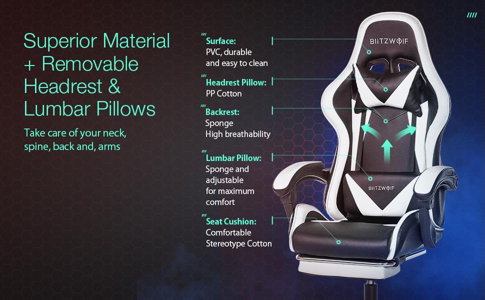 gaming chair ergonomic office chair ergonomic computer chair