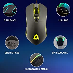 klim aim. mouse gaming usb, mouse da gaming, mouse gaming, gaming mouse