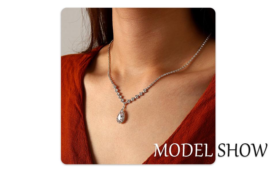 bride necklace sets bridal necklace choker bride necklace and earring set necklace silver bridal set