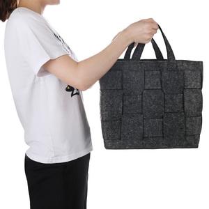 handmade woven storage basekts drawer organizer bin Foldable cube Shelf Basket office storage bins