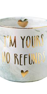 Boyfriend Girlfriend Husband Wife Gifts Funny Wedding Engagement Valentines Mug Him Her Coffee Cup